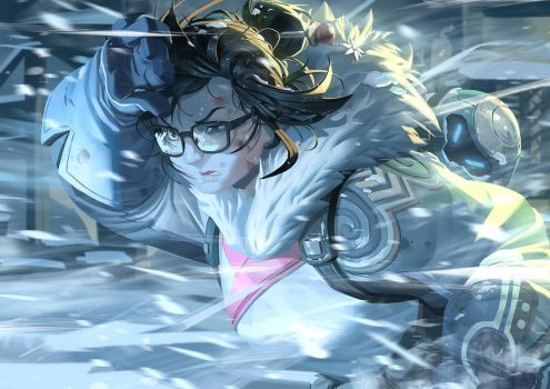 Overwatch - Mei by Nesskain