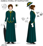 Character Reference Muneca Powell by SailorEnergy