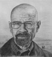 Mr Heisenberg (Walter White) by shezzor