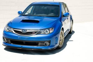 subaru WRX STi  side by Akanishi-san