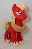 Big Mac Plushie by makeshiftwings30