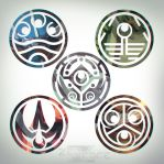 Avastar Wars - Emblems by ZedEdge