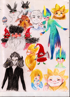 Rise of the guardians by totodile-ocioso