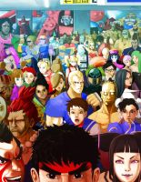 Capcom Fighters by MR-NIK