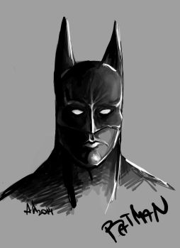 BATMAN by LoonyBuffoon