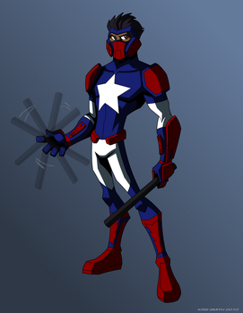 Commission5: Galactic Avenger by GalacticAvengers