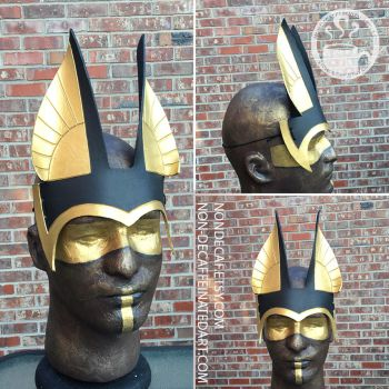 Anubis Ears Headdress by nondecaf