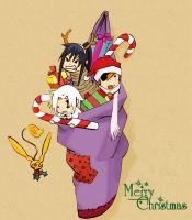DGM: Merry Christmas by carichan