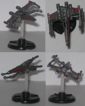 Stealth X-Wing (StealthX) by SkullSlyce