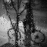 Lonely in the rain by PansaSunavee