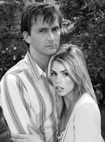 Rose Tyler and her (Human) Doctor by Gazdy