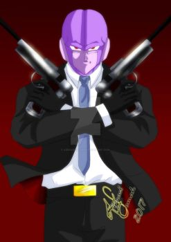 HITMAN- Re draw by Azrrael-domah