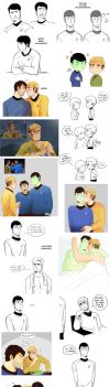 Star Trek art dump 2 by MooseFroos