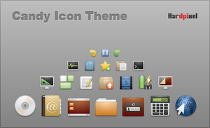 Candy Icon Theme - 1.0-beta by jonian