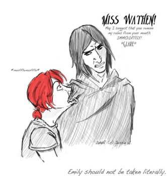 Snape-Eater - No Spoiler by JessieQ