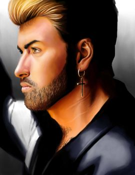 George Michael by EclecticNinja