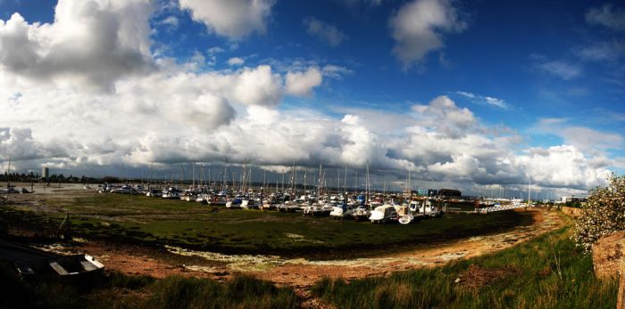 Portsmouth little Harbour by ClairutPhotography