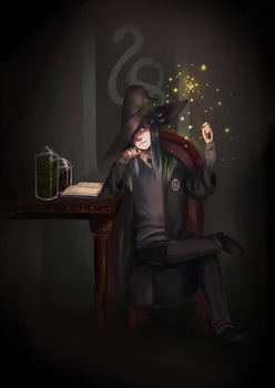 [PR] Biweekly? SAVE ME FROM HP AU by Infinitum-Outbreak