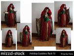 Holiday Goddess Pack 10 by mizzd-stock