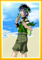 Sun, Sand, Sea and Icecream by lady-obsessed