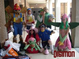Digimon Cosplay Group by DawnArts