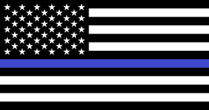 Us Flag  Blue lives by bagera3005
