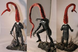 Nyarlathotep - Mid-transformation. by Bracey100