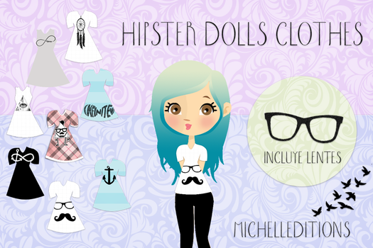 Hipster Doll's Clothes_MichellEditions by MichellEditions