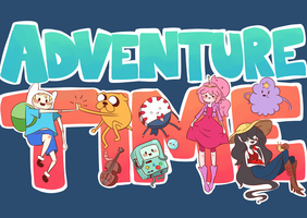 Adventure Time! by MindlessFrappe