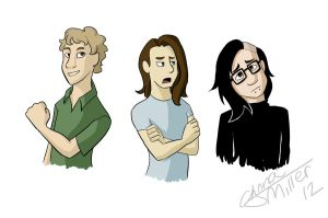 Thomas, Guy, Sonny. New style by Maiden-Chynna