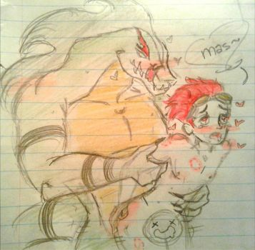 Lizard Chase and jack spicer_ sex by bloodymaryartist