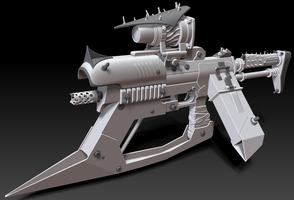 Bandit SMG-BL2 weapon by s620ex1