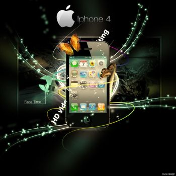 Iphone 4 by Cuca24