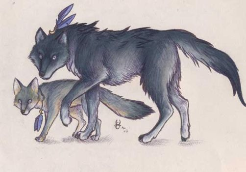 W.E- Wolf and Fox by who-stole-MY-name