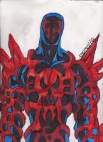 Another Symbiote Spidey 2099 by ChahlesXavier