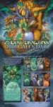 2018 The Zodiac Dragons Calendar Celestial Edition by The-SixthLeafClover