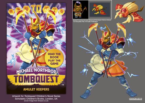 Tombquest 2: Amulet Keepers (Anubis Guard) by Nidaram