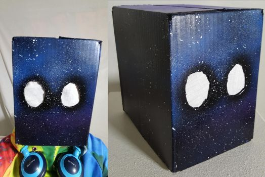 Space Box Mask by TeleviCat