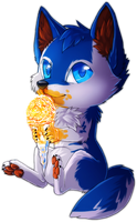 Chibi comission for Frost-Arc by Skeleion