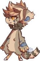 Official Bean Redesign  - Croon by Plush-Lore