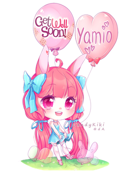 Get well, Yamio by candykiki