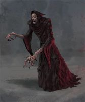 Artifact Wraith - Creature Concept by Cloister