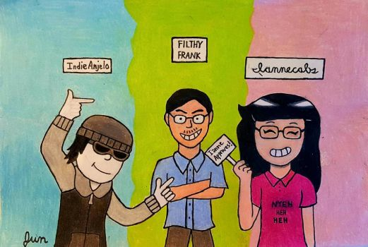 Asians With Glasses (Group Fan Art) by GimmieTheMemes424