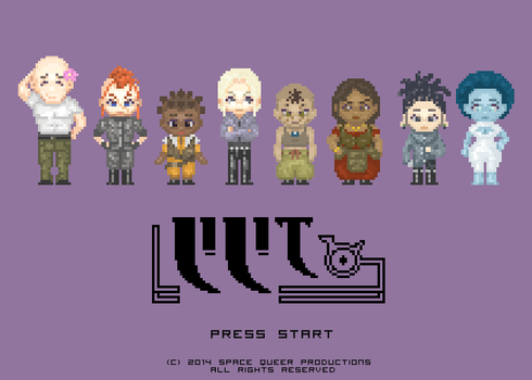 LILIT Sprite Lineup by hello-magpie