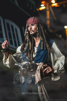Jack Sparrow Crossplay by AlysonTabbitha