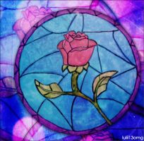 Rose - Beauty and the Beast by lulii13omg