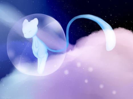 Shiny Mew by lazylogic
