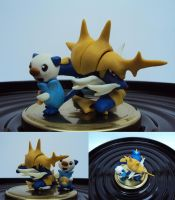 Oshawott and Samurott