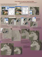 Fur and Eye Tutorial by FablePaint