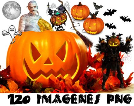 Halloween png pack by MichelyResources